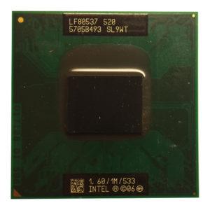 Процессор Intel Celeron M520 @ 1.60GHz/1M/533