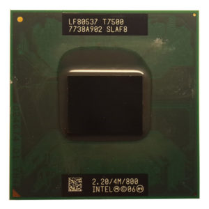 Процессор Intel Core2 Duo T7500 @ 2.20GHz/4M/800
