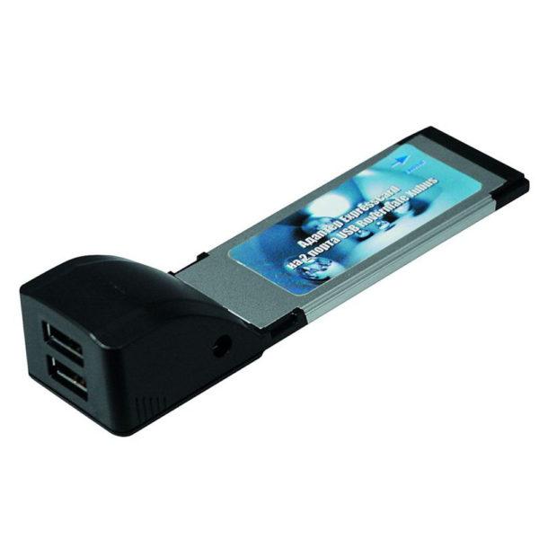 Адаптер ExpressCard/34 на 2 USB 2.0 порта chip NEC Rovermate Xubus