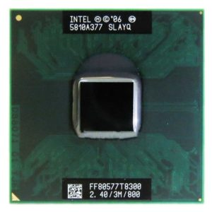 Процессор Intel Core 2 Duo T8300 @ 2.40GHz/3M/800 (SLAYQ, FF80577T8300) Б/У