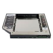 Переходник для подключения HDD в отсек привода SATA-SATA 12.7 мм (для ноутбуков)