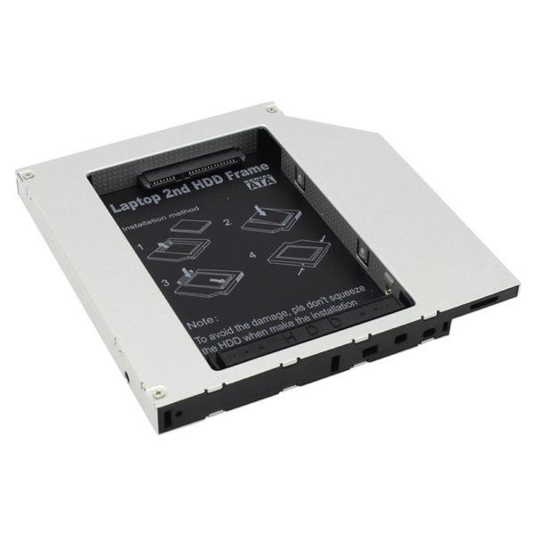 Переходник для подключения HDD в отсек привода SATA-IDE (для ноутбуков)