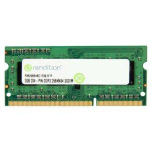 Память SO-DDR-III 2Gb PC-10600 1333 Mhz Rendition