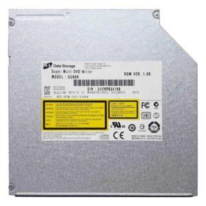 Привод для ноутбука DVD+/-RW Hitachi-LG GU90N SATA Slim 9.5 мм без панели (KCC-REM-HLD-GU90N) Б/У