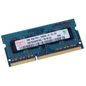 Модуль памяти SO-DIMM DDR3 2Gb PC-10660 1333 Mhz Hynix