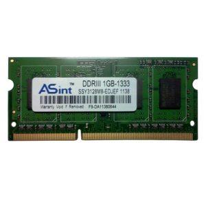 Модуль памяти SO-DIMM DDR3 1Gb PC-10600 1333 Mhz ASint чипы Elpida 8-chips