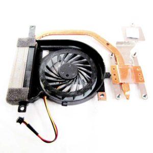 Вентилятор DC5V 0.25A (UDQF2ZH91CQU, 4FNE7FAN000) + радиатор (4XHK1HSN040) для ноутбуков Sony VPCEH, Sony VPC-EH