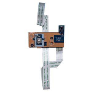 Плата кнопки старта запуска включения для ноутбука Acer Aspire E1-510, E1-521, E1-530, E1-570, Packard Bell EasyNote TE69HW, TE69BM (V5WE2 LS-9531P) + шлейф (V5WE2 NBX0001BG00)