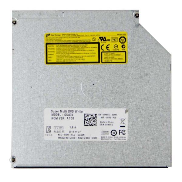 Привод для ноутбуков Hitachi-LG GUA0N slim black DVD+/-RW SATA 9.5мм