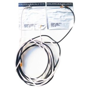 Антенна с кабелем для подключения к модулю Wi-Fi от ноутбука ASUS K55VJ (Модель: ACON_K53SK_WLAN_Main_A, ACON_K53SK_WLAN_Aux_A, K55SQRC WLAN MAIN, K55SQRC WLAN AUX)