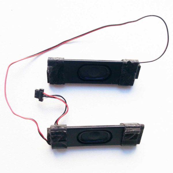 Динамики внутренние для ноутбука ASUS A52F, K52N, K52N, A52D, K52F, K52D, X52J левый + правый 2W 4-pin Комплект