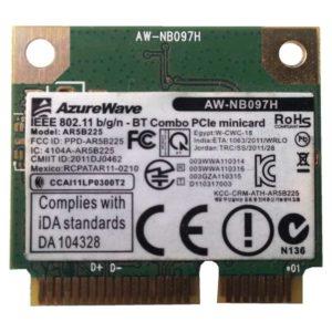 Модуль Wi-Fi + Bluetooth AzureWave AW-NB097H Wireless IEEE 802.11 b/g/n — BT Combo PCIe minicard