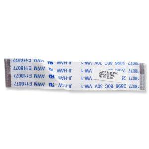 Шлейф подключения платы USB, RJ45 к материнской плате ноутбука Lenovo IdeaPad Z575, B570, B575, V570, V575 28-pin 70x15 мм (Модель: LA57 RJ45 FFC 50.4IH10.001)