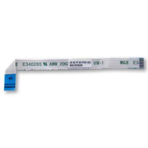 Шлейф подключения тачпада к материнской плате ноутбука Lenovo IdeaPad B590 6-pin 102x7 мм (Модель: LB58 TP 50.4TG01.023)
