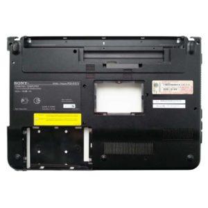 Нижняя часть корпуса ноутбука Sony Vaio PCG-61211V, PCG-61211M, VPCEA4M1R, VPCEA3C5E, VPCEA (012-002A-2977-B)