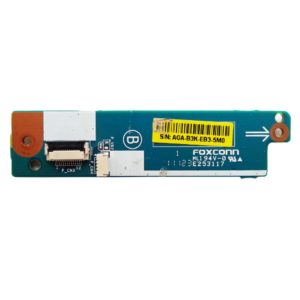 Плата функциональных кнопок ASSIST, WEB, VAIO для ноутбука Sony Vaio VPC-EA, VPCEA, PCG-61211V, PCG-71211V, VPCEA4M1R (SONY SWX-345, M961_MP_FUNCTION BOARD D/B, 1P-1106J03-8011 Rev:1.1)