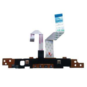 Плата кнопок тачпада + индикация для ноутбука Samsung NP355V4C, NP355V5C, NP350V5C (LS-8863P) + 2 шлейфа 6-pin 70x7 мм и 12-pin 93x13 мм (NBX00017O00, NBX00017N00)