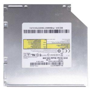Привод DVD+RW Toshiba-Samsung SN-208 8x SATA 12.7 мм для ноутбука Samsung NP355V4C (SN-208BB/SCFFZ, TSS-SN208)