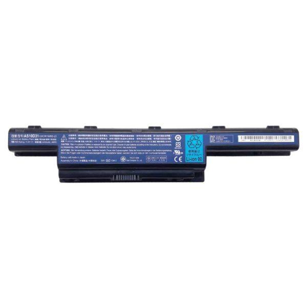Аккумуляторная батарея для ноутбука Acer Aspire E1-571, E1-571G, E1-521, E1-531, Packard Bell EasyNote TE11 10.8V 4400mAh 48Wh Original Оригинал (AS10D31) Б/У