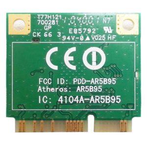 Модуль Mini PCI-E Wi-Fi 802.11b/g/n для нетбука Acer Aspire One D255. Packard Bell NAV50 (Atheros AR5B95, PDD-AR5B95, T77H121.10 HF)