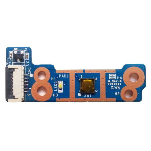 Плата кнопки старта, запуска, включения ноутбука HP Pavilion dv6-3000, dv6-3xxx серий (DA0LX6PB4D0, 35LX6PB0000)