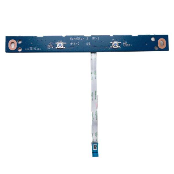 Плата кнопок тачпада со шлейфом 4-pin 98x5 мм для ноутбука HP Pavilion g6-1000, g7-1000, g4-1000, g6-1xxx, g7-1xxx, g4-1xxx (DA0R22TB6D0 REV:D, 35R22TB0010)