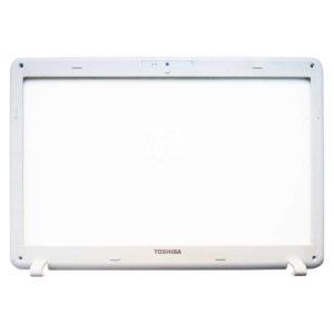 Рамка матрицы ноутбука Toshiba Satellite C660, C660D White Белая (AP0H0000810, FA0H0000600, FA0H0000610-CE, FA0H0000610-AE, PWWAA LCD BEZEL)