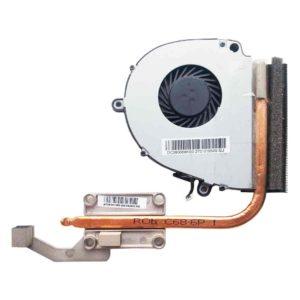 Система охлаждения — термотрубка, радиатор для Acer Aspire E1-571G, E1-571, E1-521, Packard Bell TE11 (AT0IF0010R0, медная трубка: ROb C68-6P 1) + кулер, вентилятор 4-pin DC5V 2.0W (MF60090V1-C190-G99)