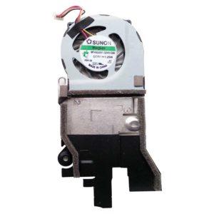 Система охлаждения, радиатор + вентилятор DC5V 1.25W 3-pin для нетбука Acer One D255, D260, eM350 (AT0DM001SS0, MF-40050V1-Q040-G99)