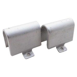 Заглушки петель для ноутбука HP Pavilion g6-1000, g6-1xxx Silver Серебристые Комплект