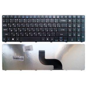Клавиатура для ноутбука Acer Aspire 5810T, 5738, 5740, 7735, 7738, e-Machines E642G, E644, G640, Packard Bell Easy Note NEW90, NV50, TK81, TK85 Black Черная (MB358-002, 5810-US)