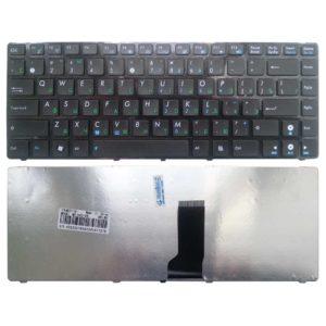 Клавиатура для ноутбука Asus K42, N43, N82, U31, U35, U41, UL30 Black Чёрная (K42-US, MB302-001, 04GN0N1KRU00-2, 04GN0N1KRU00-3)