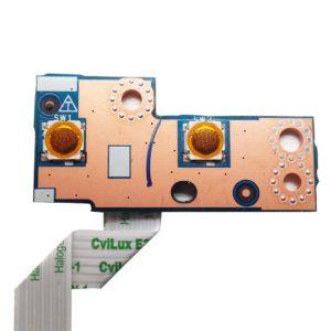 Плата кнопки включения, старта, запуска ноутбука Lenovo IdeaPad G500s, G505s, G510s (VILG1/GZ LS-9902P) + доп. кнопка RECOVERY со шлейфом 6-pin 97 мм (VILG1 NBX0001EF00)