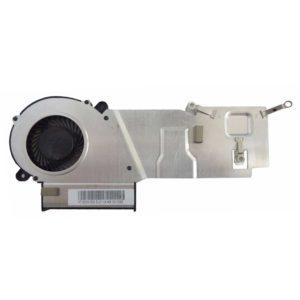 Термотрубка, радиатор + вентилятор 3-pin для ноутбука Acer Aspire E15, ES1-511 (AT16G001SS0, EF50050S1-C460-G99)