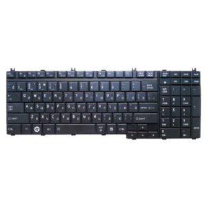 Клавиатура для ноутбука Toshiba Satellite A500, A500D, A505, A505D, F501, L350, L350D, L355, L355D, L500, L500D, L505, L505D, L510, L510D, L515, L515D, L550, L550D, L555, L555D, P200, P200D, P205, P205D, P300, P300D, P305, P305D, P500, P500D, P505, P505D, X200, X205, Qosmio G50, G55, F60, F750, X300, X500, X505, Black Чёрная (23C23-RU)