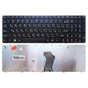 Клавиатура для ноутбука Lenovo G570, G770, G780, B590, B580, V580 Black Чёрная (MB340-009, B570-US)
