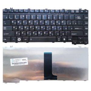 Клавиатура для ноутбука Toshiba Satellite A200, A205, A210, A215, A300, A300D, A305, A350, A350D, A355, A355D, L300, L300D, L305, L305D, L450, L450D, L455, L455D, M200, M205, M300, M305, M500 Black Чёрная (V160311AS1)