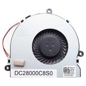 Вентилятор для ноутбука Dell Inspiron 3521, 5521, 3737, 3721, 5721, 74X7K, I15RV-1667BLK 3-pin fan DC5V 0.40A (DC28000C8S0, 074X7K, CN-074X7K)