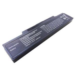 Аккумуляторная батарея для ноутбука Samsung (NP) 300E, 300V, 305E, 305V, 350E, 350V, NP, P430, P510, P530, P580, Q230, Q320, R408, R425, R428, R429, R430, R463, R464, R465, R466, R647, R468, R469, R470, R478, R480, R517, R519, R520, R522, R525, R530, R540, R580, R590, R620, R719, R720, R730, R780, RC410, RC510, RC530, RC710, RC730, RF410, RF510, RF710, RV400, RV500, RV700 11.1V 5200mAh/58Wh с индикацией заряда, Black Чёрная (PB9NS6B, AA-PB9NC6B, AA-PL9NC2B)