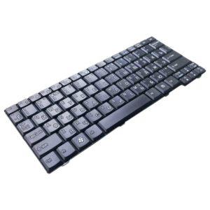 Клавиатура для ноутбука Acer Aspire One 531, A110, A150, D150, D210, D250, P531, ZG5, ZG8, eMachines eM250, Gateway LT10, LT20, LT1000, LT1005, LT1005U, LT2000, LT2003C, LT2044u, Packard Bell Dot S Black Чёрная (NSK-AJE0R, 9JN9482.E0R, PK1306F01H0) Уценка!
