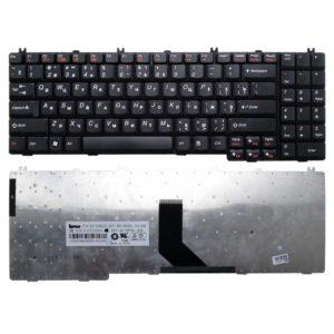 Клавиатура для ноутбука Lenovo IdeaPad B550, B560, G550, G555, V560, V565 Black Чёрная (25-008409, V-10512AS1, A3S)