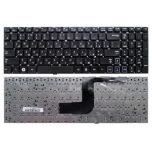 Клавиатура для ноутбука Samsung RC508, RC510, RC520, RV509, RV511, RV513, RV515, RV518, RV520 Без рамки, Black Чёрная (V123060AS1-RU)