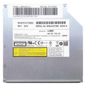Привод для ноутбука DVD+/-RW MATSHITA PANASONIC UJ890 SATA 12.7 мм без панели (UJ890ADAA-A)