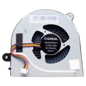 Вентилятор, кулер для ноутбука Lenovo IdeaPad G500s, G505s, G400s, G405s 4-pin DC5V (DC28000DAS0, MG60090V1-C180-S99)