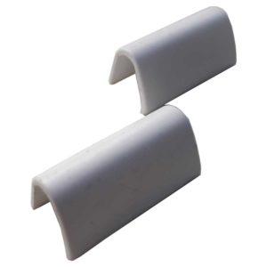 Заглушки петель для ноутбука MSI S30, MS-1358, 0M-049, 0M-007, 0M-080 White Белые Комплект