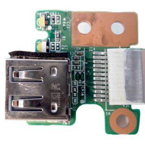 Плата 1xUSB со шлейфом 12-pin 65×13 мм для ноутбука HP Pavilion g6-2000, g6-2xxx (DAR33TB16C0, 34R33UB0010)