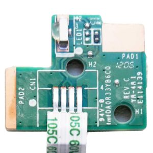 Плата LED индикации со шлейфом 4-pin 40×5 мм для ноутбука HP Pavilion g6-2000, g6-2xxx (DA0R33YB6C0, 36R33LB0010)