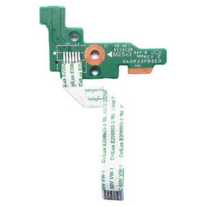 Кнопка включения, старта, запуска со шлейфом 6-pin 59×7 мм для ноутбука HP Pavilion g6-2000, g6-2xxx серий (DA0R33PB6E0, 32R33PB0010)