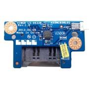 Плата картридера со шлейфом 4-pin 110 мм для ноутбука Lenovo IdeaPad G500, G505 (LS-9633P, 455MC838L01, VIWGR/S NBX0001DC00)