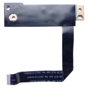 Кнопка включения, старта, запуска + дополнительная кнопка RECOVERY со шлейфом 8-pin 95 мм для ноутбука Lenovo G470, G570, G575, G770, G780 (LS-6753P, PIWG1 NBX0000SM00, HAMBURG-SH AWM 20798 80C 60V VW-1)
